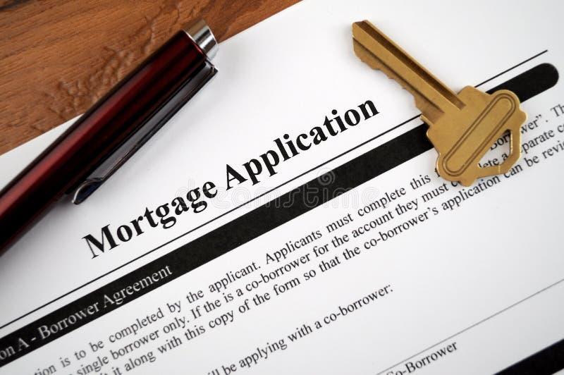 zastosowanie hipoteka obrazy stock