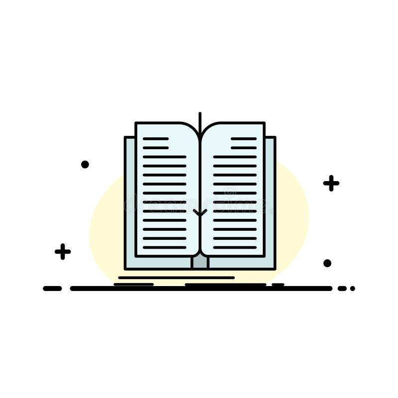 Zastosowanie, kartoteka, przeniesienie, Książkowa Biznesowa linia Wypełniający mieszkanie ikony sztandaru Wektorowy szablon ilustracja wektor