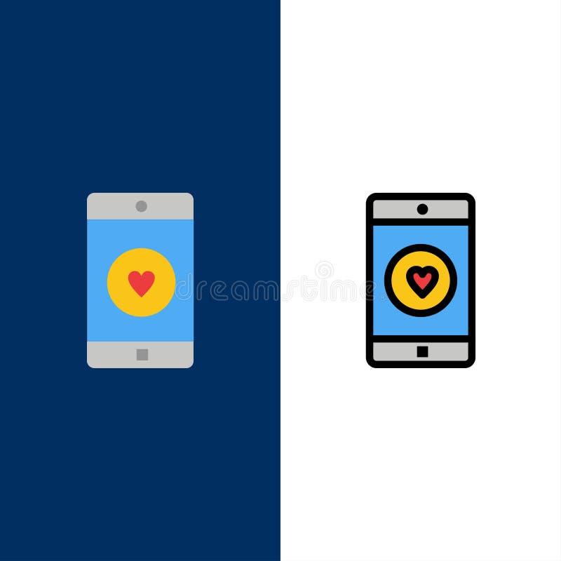 Zastosowanie, wisząca ozdoba, Mobilny zastosowanie, Jak, Kierowe ikony Mieszkanie i linia Wypełniający ikony Ustalony Wektorowy B ilustracji