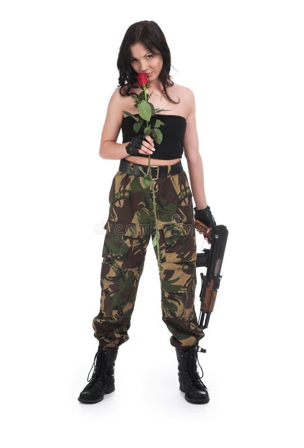 zastrzel róże obrazy stock