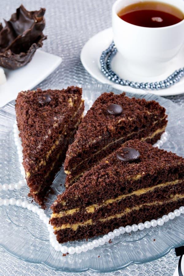 zasycha czekoladę obrazy stock
