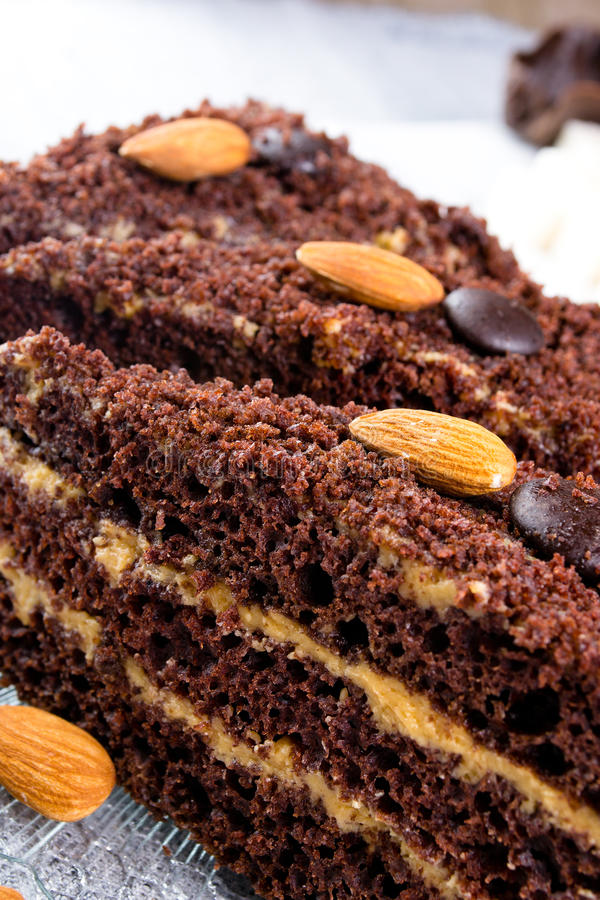 zasycha czekoladę obraz royalty free