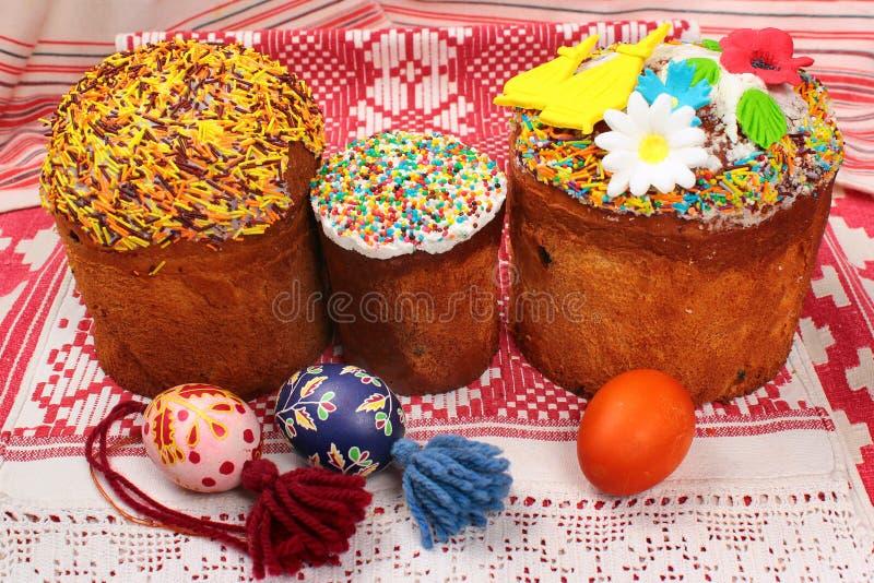 zasycha malujących Easter jajka obrazy stock