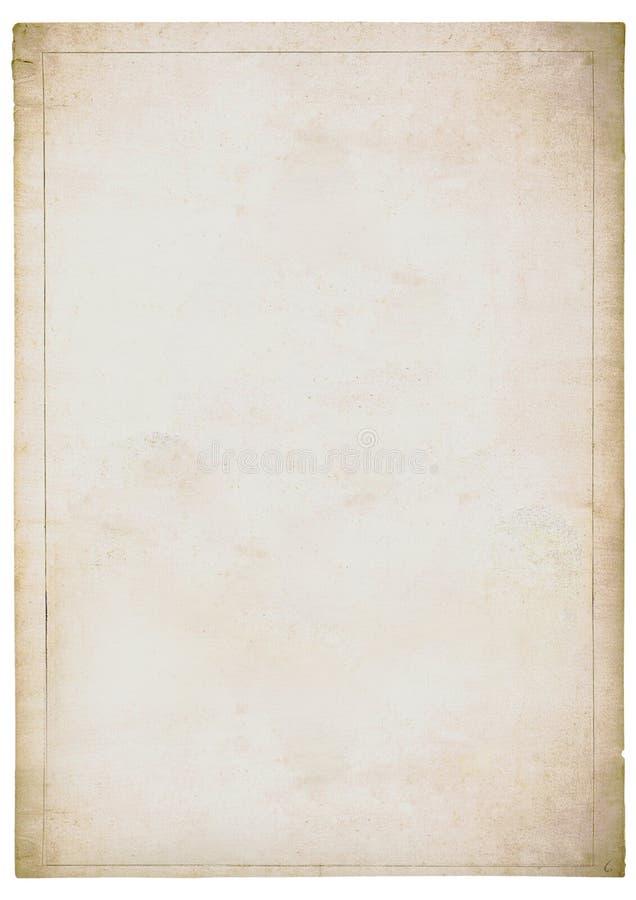 zatarty stary papieru prześcieradła biel zdjęcie stock