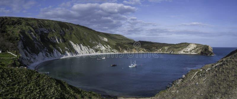 zatoczki Dorset lulworth fotografia royalty free