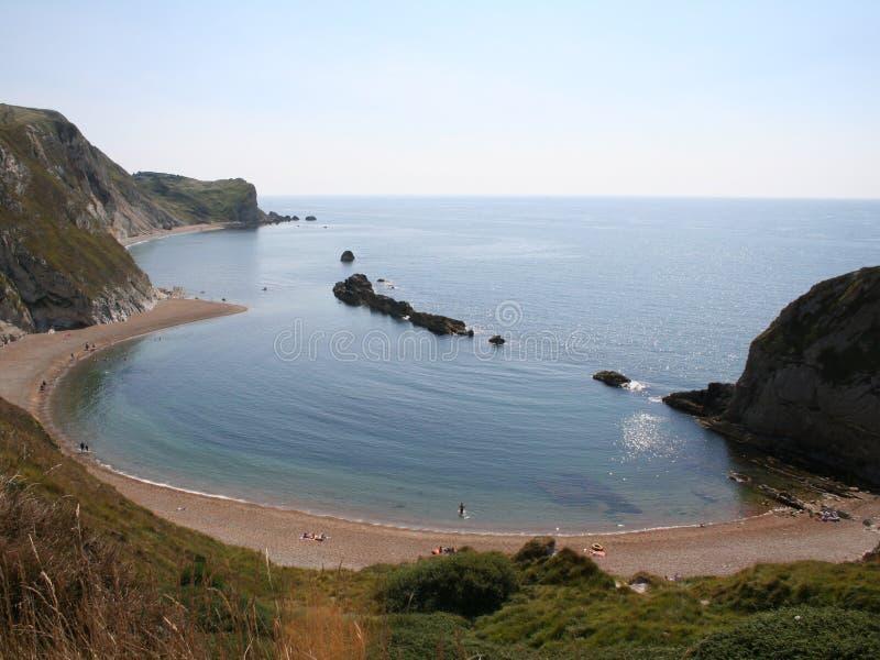 zatoczki Dorset lulworth obraz royalty free