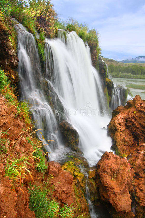 zatoczki spadek Idaho obraz stock