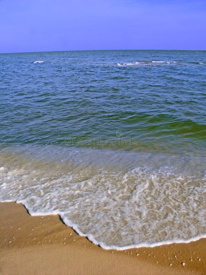 Zatok wysp Seashore Krajowa plaża zdjęcia royalty free