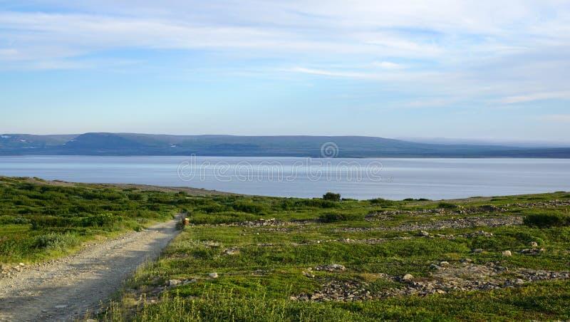 Zatoka Barents morze zdjęcie royalty free