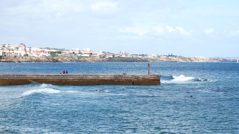 Zatoka Cascais obrazy royalty free