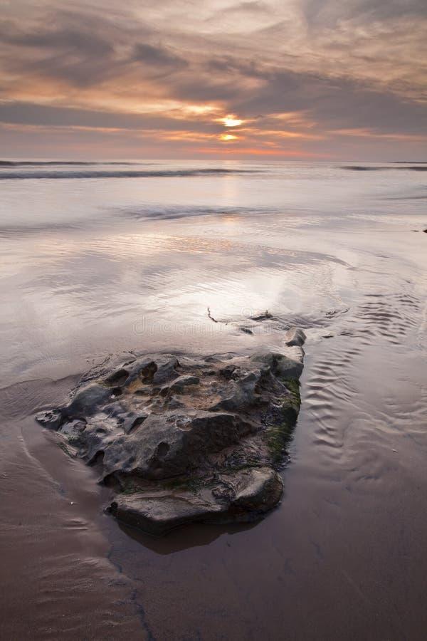 zatoka dunraven glamorgan southerndown uk Wales zdjęcie stock
