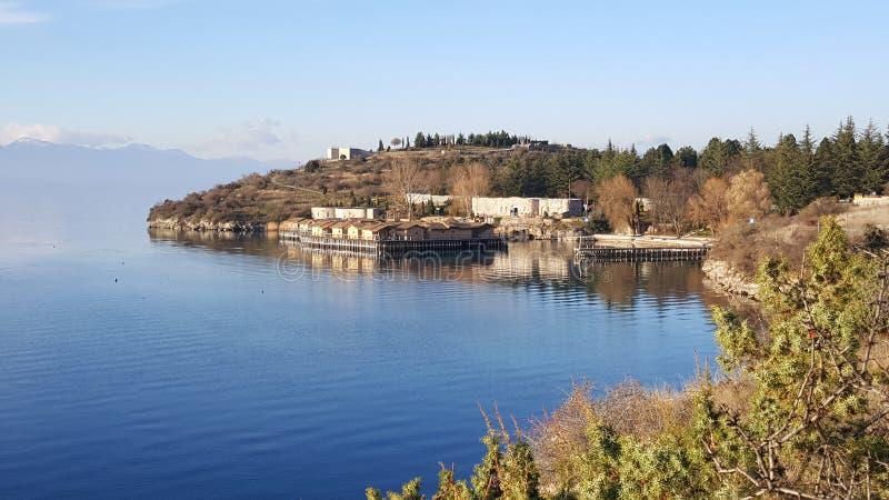Zatoka kości Muzealne w Macedonia obrazy royalty free