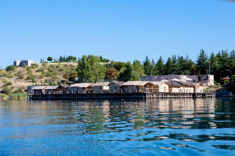 Zatoka kości - Ohrid, Macedonia obrazy royalty free