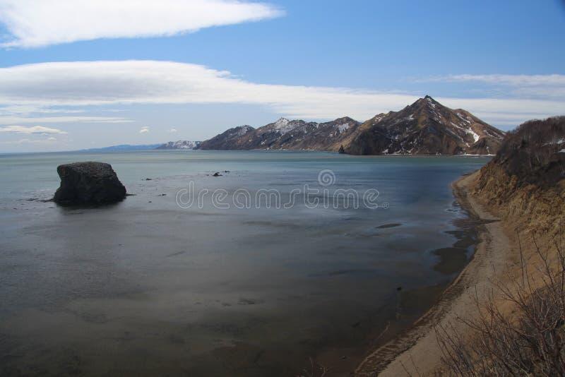 Zatoka na Sakhalin obraz royalty free