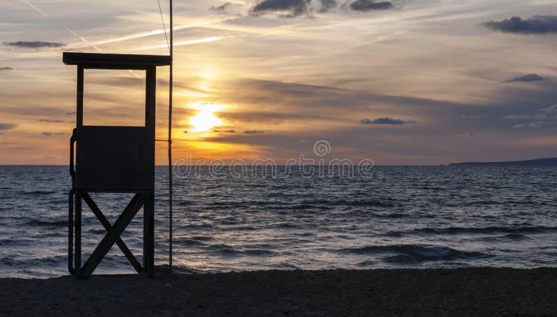 Zatoka Palma de mallorca obraz royalty free
