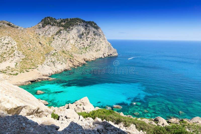 Zatoka przy Mallorca zdjęcie royalty free
