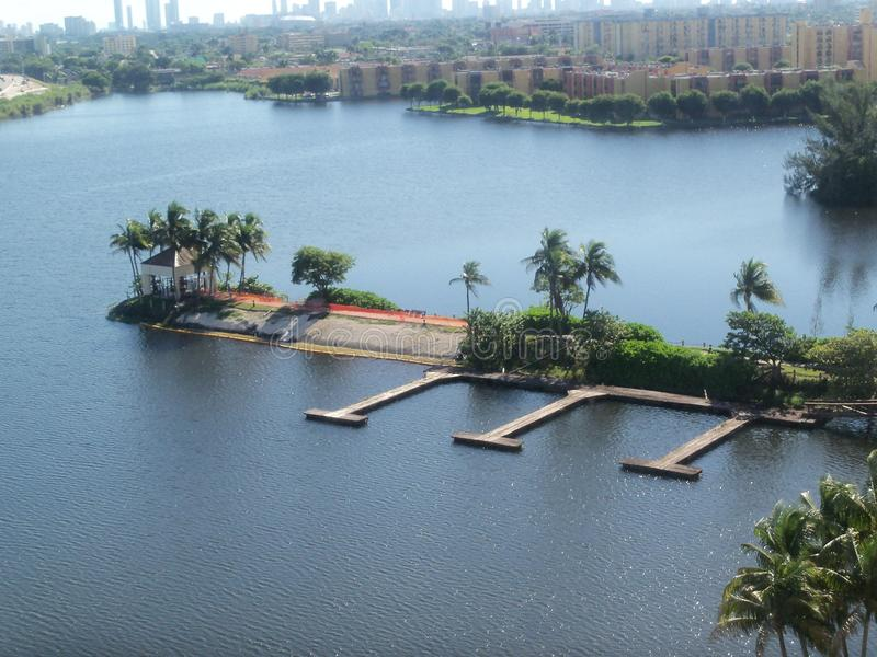 Zatoka przy Miami obrazy stock