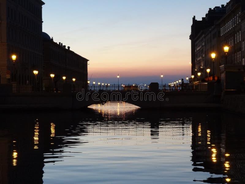 Zatoka Trieste zdjęcie royalty free