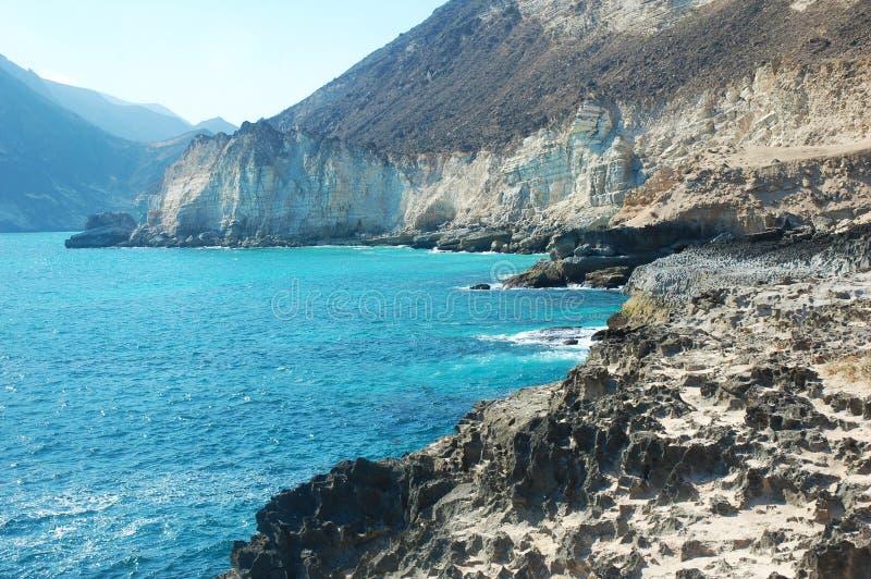 Zatoki wybrzeże Oman zdjęcia royalty free