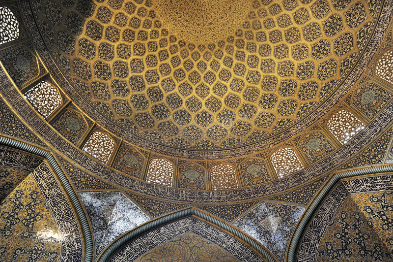 Zatracenie Jameh meczet obraz royalty free