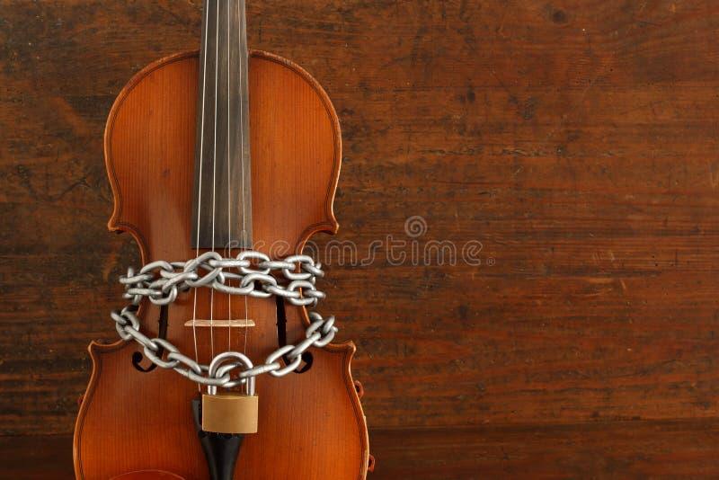 Zatrzymuje muzykę zdjęcie royalty free