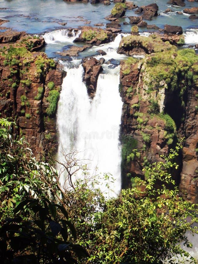 Zauber-Wasserfall stockbilder