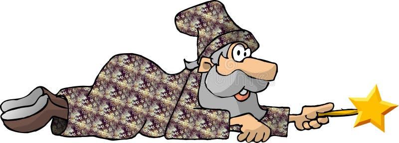 Download Zauberer 2 stock abbildung. Illustration von wizardry, magie - 35733