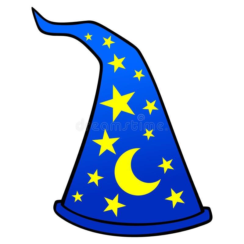 Zauberer-Hut stock abbildung