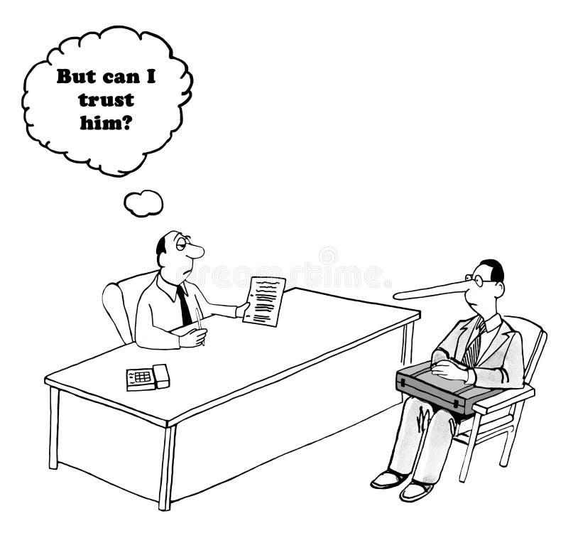 zaufanie ilustracji