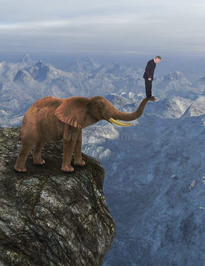 Zaufanie, praca zespołowa, przywódctwo, cele, ryzyko obrazy stock