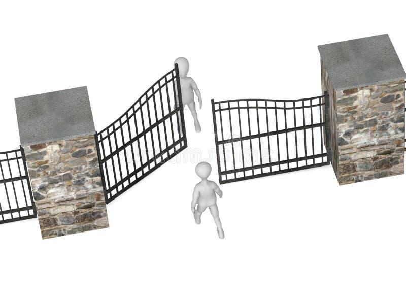 Zaun vektor abbildung