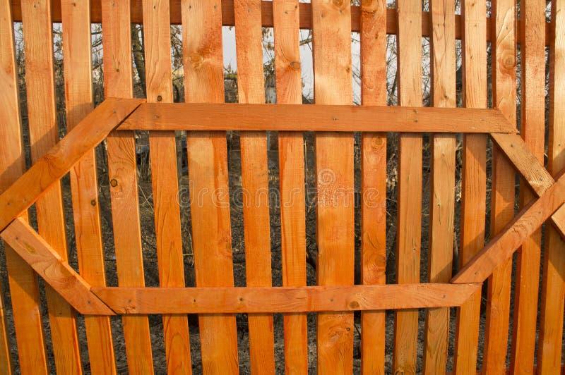 Zaun der Stange, lackiert lizenzfreie stockbilder