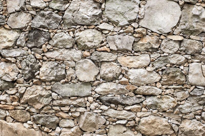 Zaun von Steinen stockbilder