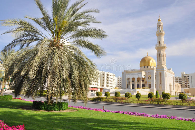 Zawawi Mosque - Muscat, Oman stock photography