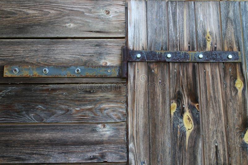 Zawias z śrubami na drzwi zdjęcia royalty free