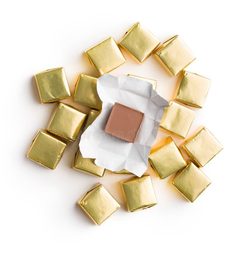 Zawijający nugata cukierek zdjęcia stock