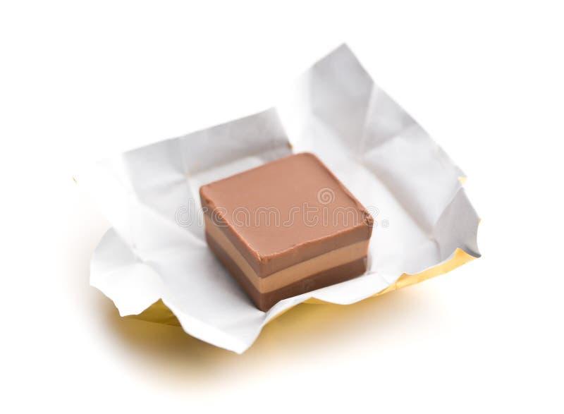 Zawijający nugata cukierek obrazy stock