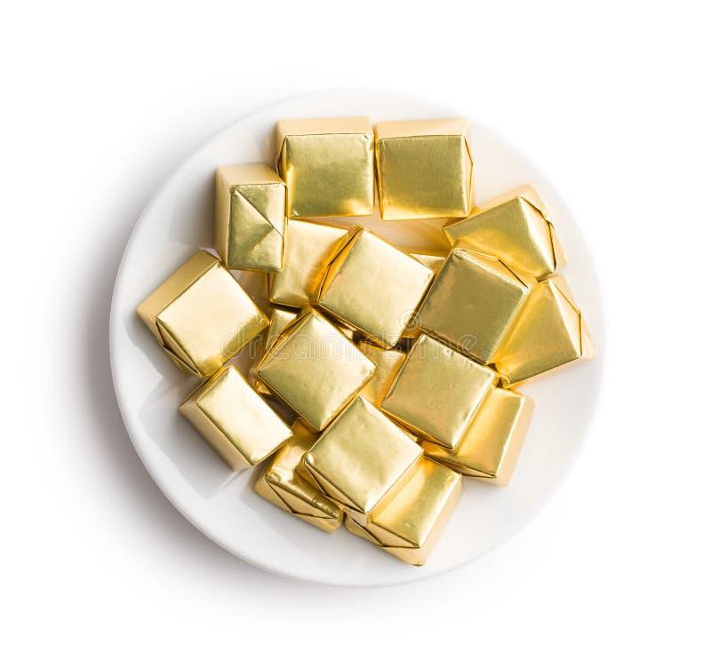 Zawijający nugata cukierek obrazy royalty free