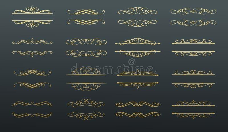 Zawijas, ślimacznica i podział, royalty ilustracja