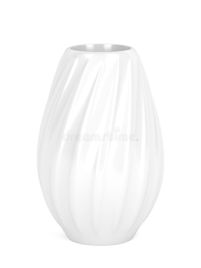 Zawijas ceramiczna waza royalty ilustracja