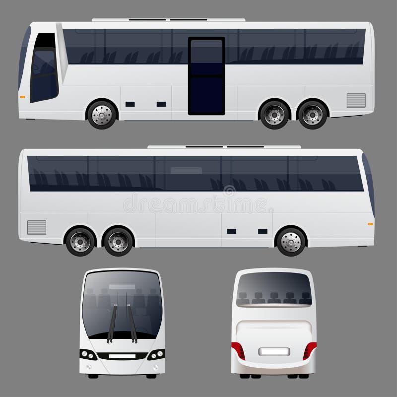 zawsze się autobusowy pokoju wektora ilustracja wektor