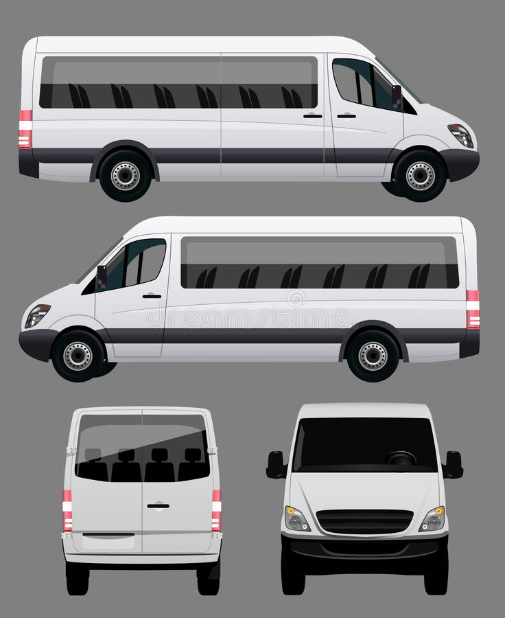zawsze się autobusowy pokoju wektora ilustracji