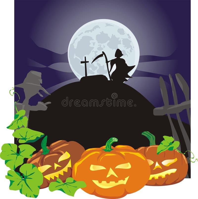 zawzięte Halloween banie ilustracji