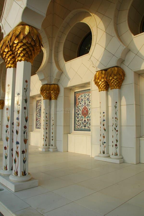 zayed шейх мечети al nayhan стоковые изображения rf