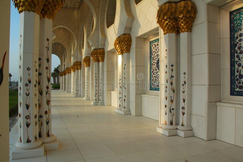 zayed шейх мечети al nayhan стоковые фото