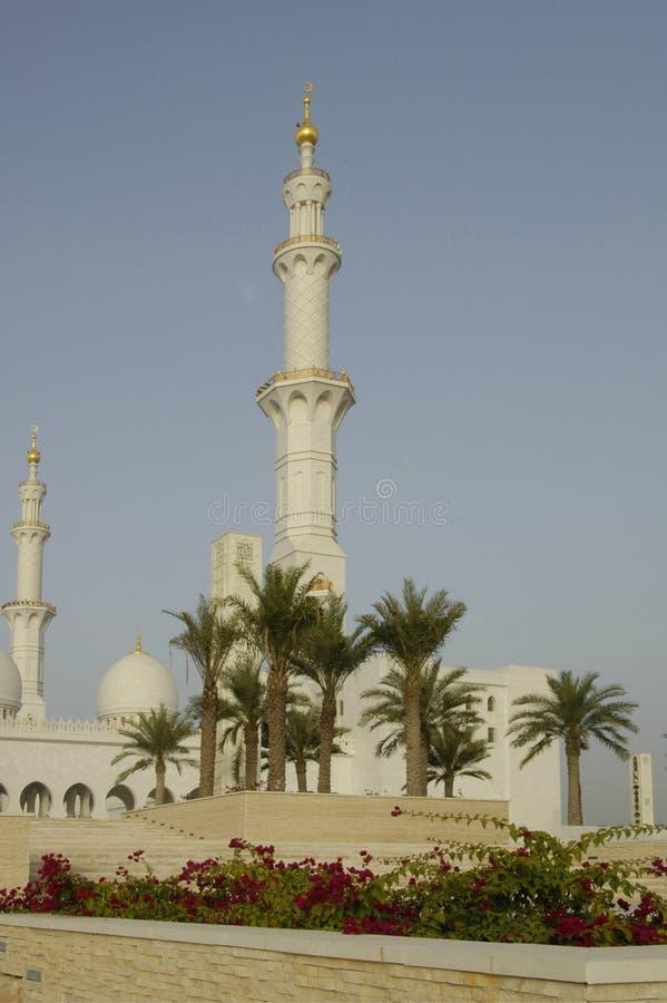 zayed шейх мечети al nayhan стоковые изображения