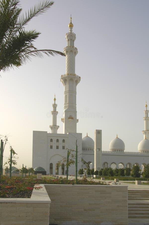 zayed шейх мечети al nayhan стоковые фотографии rf