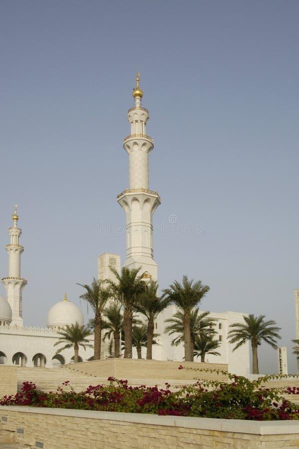 zayed шейх мечети al nayhan стоковое фото rf
