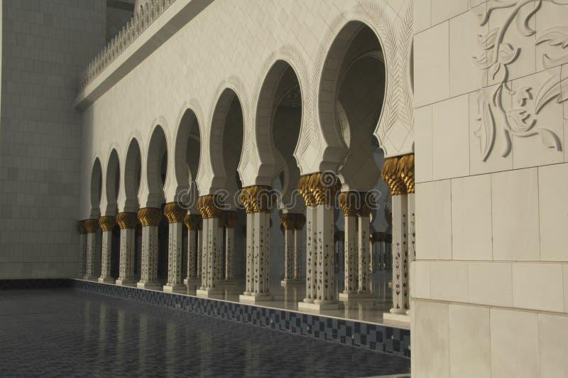 zayed шейх мечети al nayhan стоковая фотография rf