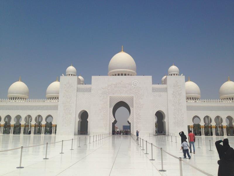 zayed meczetowy sheikh fotografia royalty free